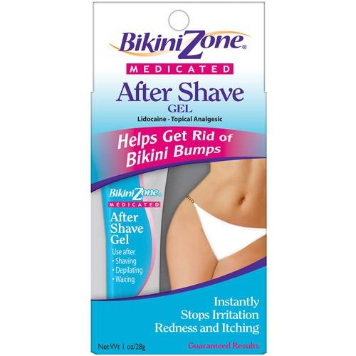 Bikini Zone Medicated Aftershave Gel, 1 Oz