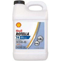 Shell Rotella T 15W-40 Heavy Duty Diesel Oil, 2.5 gal.