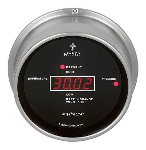 Mystic Nickel Barometer (0-3000Ft.)