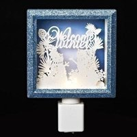 "Roman 59317 - 6"" ""Welcome Winter"" Snowmen LED Night Light (164107)"