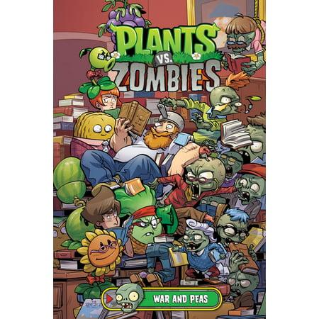 Plants vs. Zombies Volume 11: War and Peas - - Halloween Wars Zombies Vs. Vampires