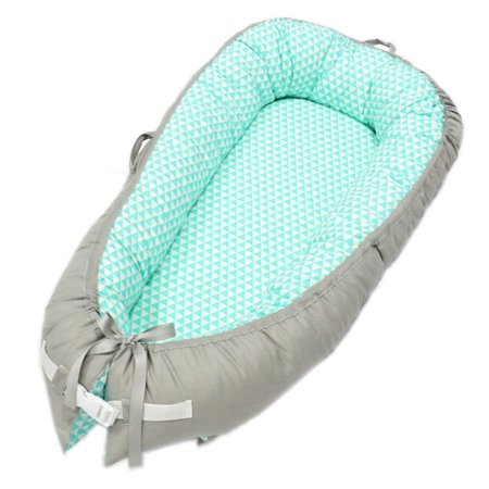TOPCHANCE Baby Lounger, Portable Super Soft and Breathable Newborn Infant Bassinet, Newborn Cocoon Snuggle