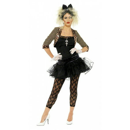 80s Wild Child Adult Costume - Plus Size 1X