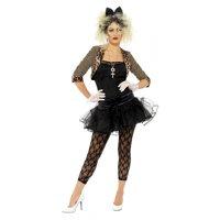 80s Wild Child Adult Costume - Plus Size 1X
