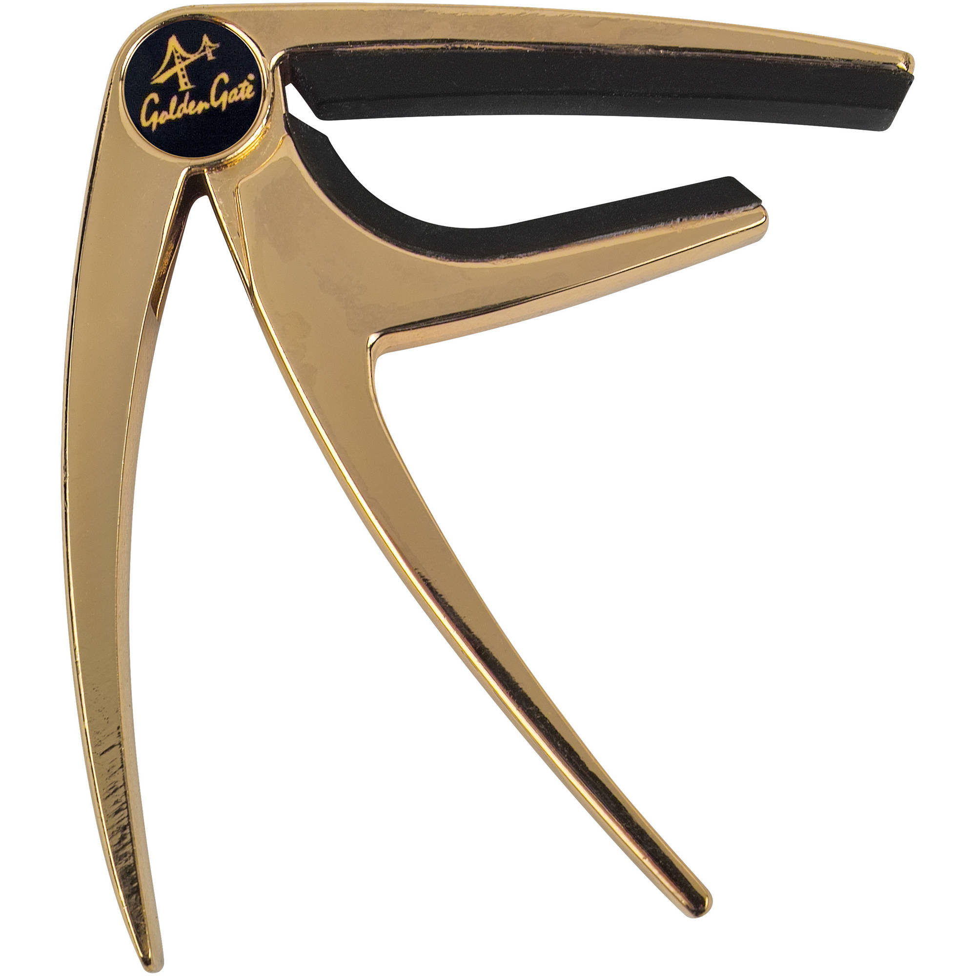 Golden Gate GC-50GD Acoustic Guitar Capo, Gold