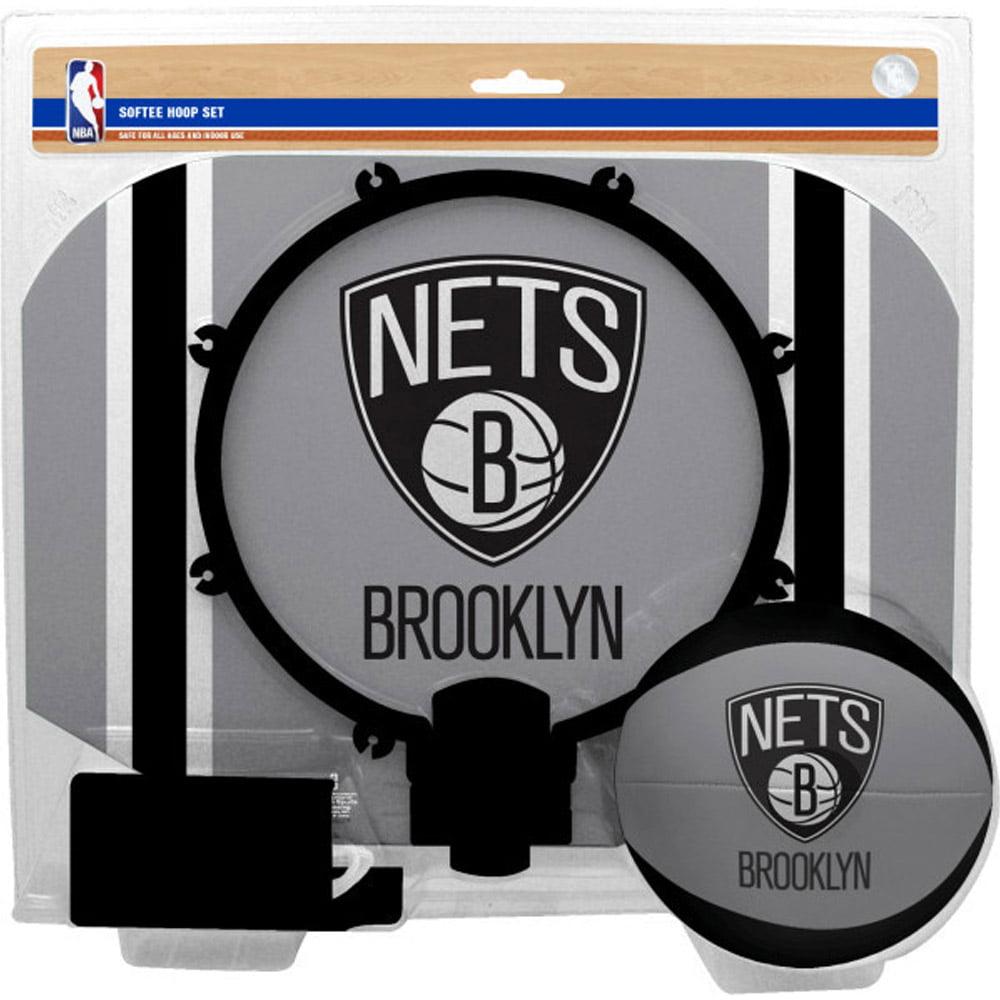 Brooklyn Nets Rawlings Softee Hoop & Ball Set - No Size