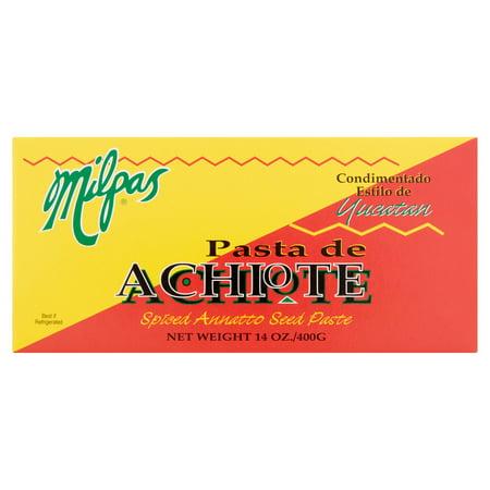 (2 Pack) Milpas Pasta de Achiote, 14 oz
