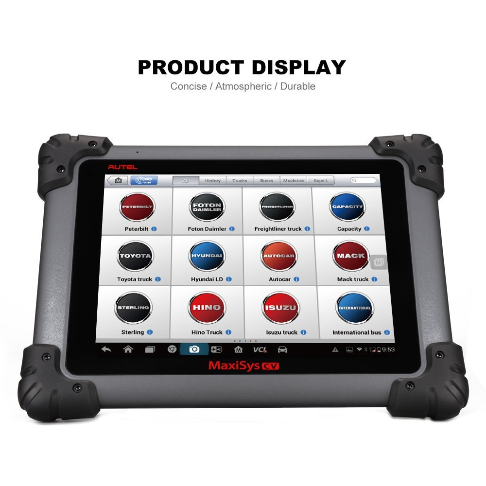 Autel Maxisys Ms908cv Commercial Vehicle Diagnostic Scan Tool