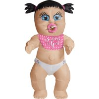 Adult Daddy's Girl Inflatable Baby Costume