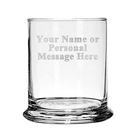 Custom Customized PERSONALIZED Glass Candle Holder Gift Engraved Your Personal (Customize Your Gift)