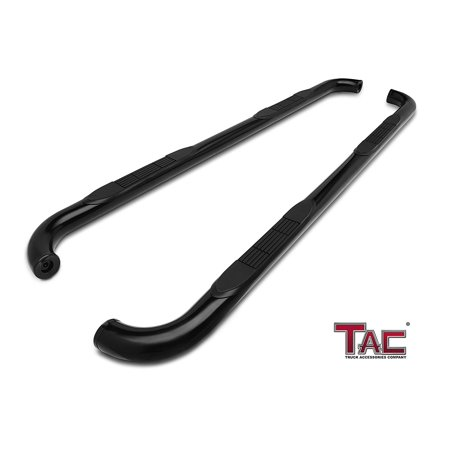 TAC Side Steps for 2000-2019 Chevy Tahoe (Excl. 02-06 Z71) / GMC Yukon 1/2 Ton / 2001-2018 Caillac Escalade Truck Pickup 3