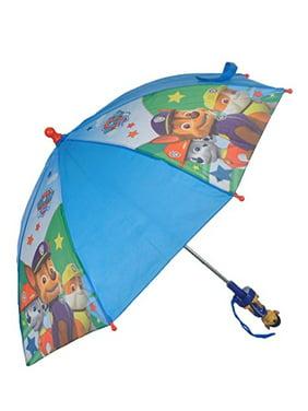 Umbrella - Paw Patrol - 3D Handle Blue Team Youth/Kids New 028458