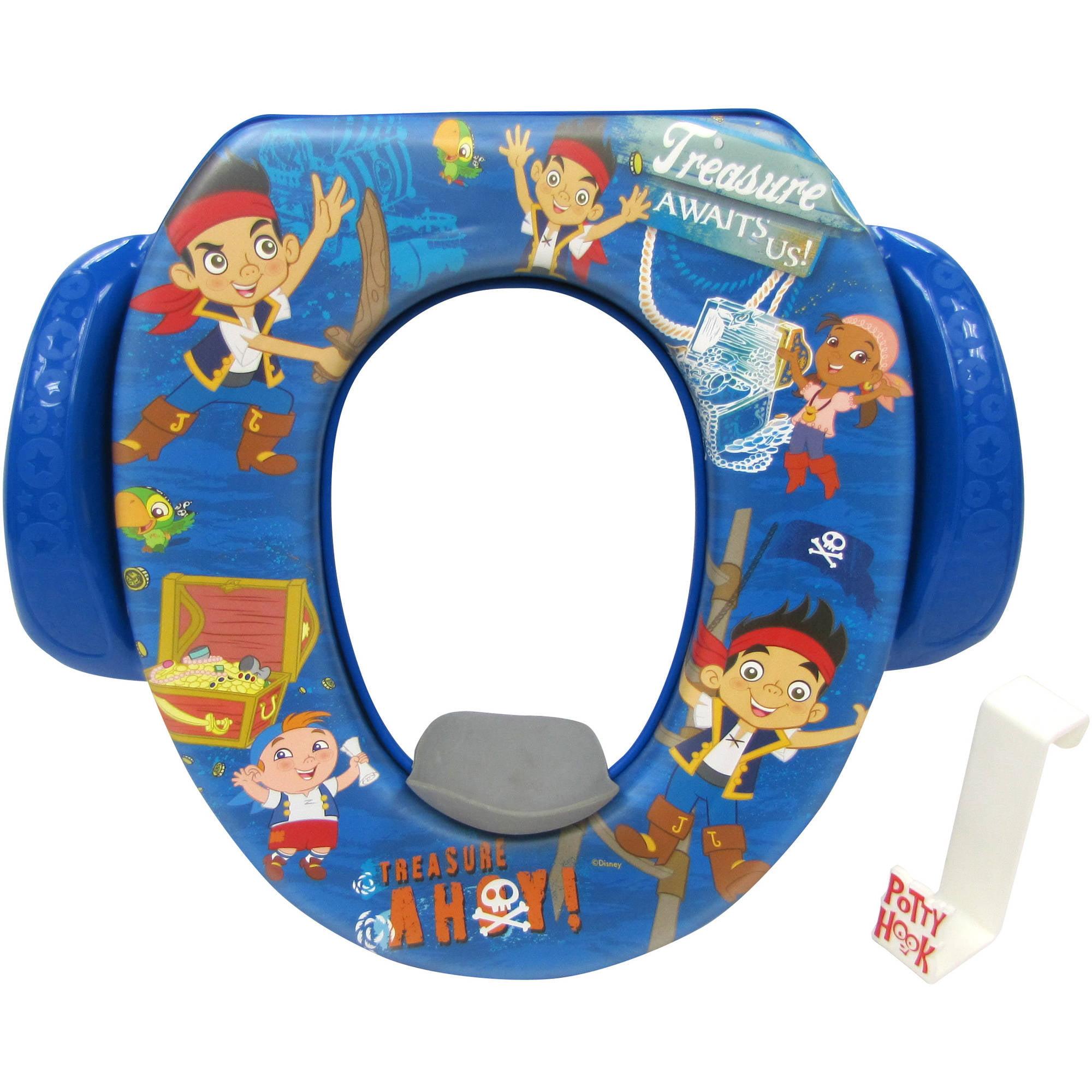 Disney Jake and The Neverland Pirates Soft Potty Seat