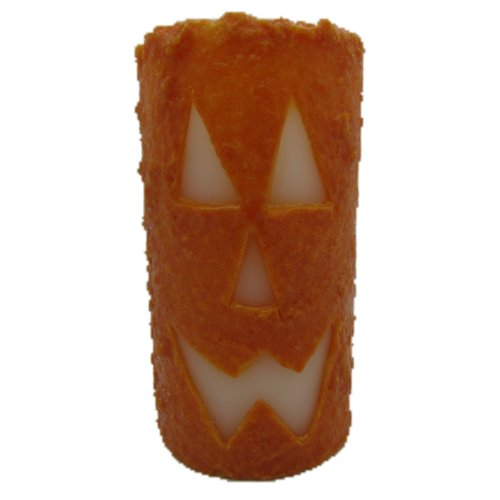 Star Hollow Candle Company Jack O Lantern Pillar Candle