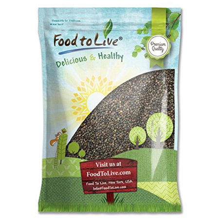 French Lentils, 10 Pounds - Whole Dry Beans, Raw, Kosher, Sproutable, Bulk - by Food to - Cooking French Lentils