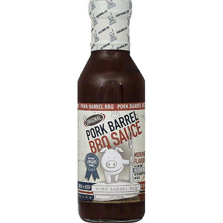 Pork Barrel Original BBQ Sauce, 14 oz, (Pack of 6 ...
