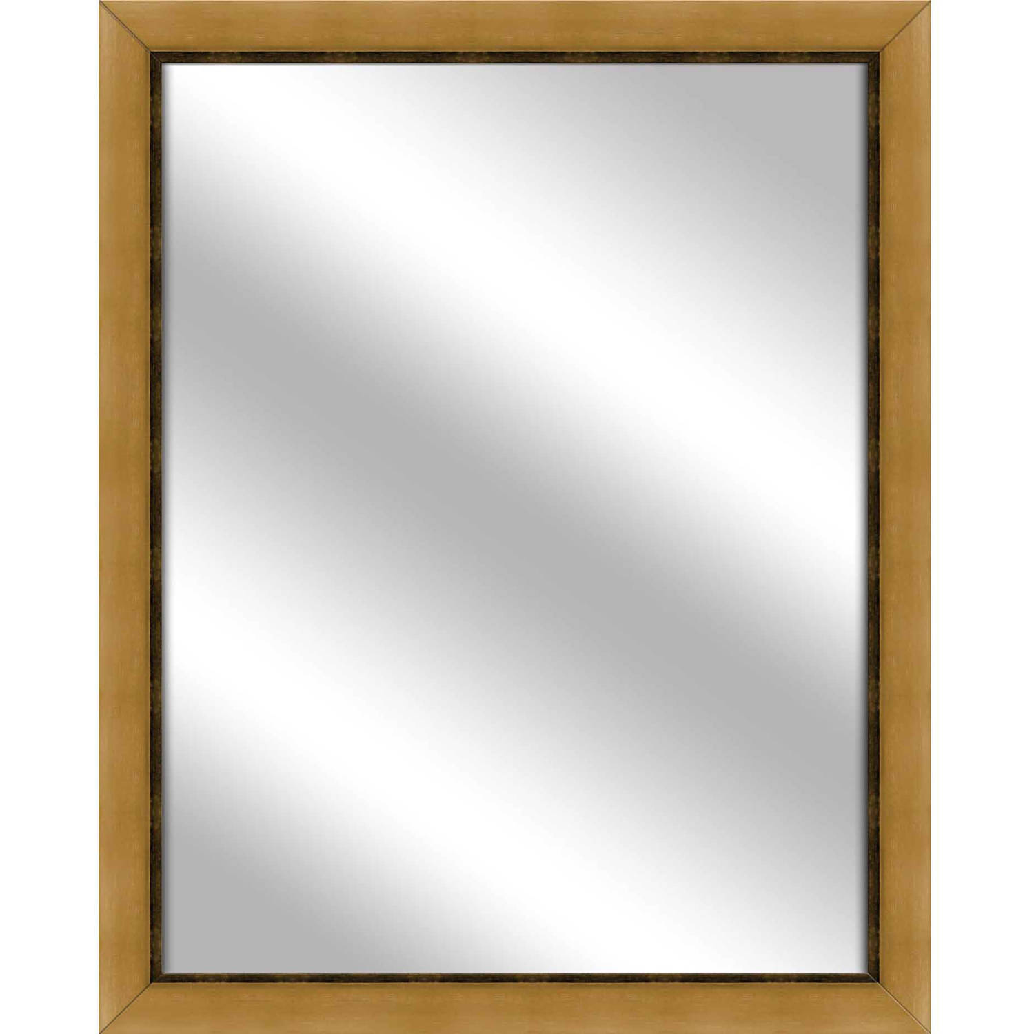 Vanity Mirror, Antique Gold, 24.75x30.75 by PTM Images