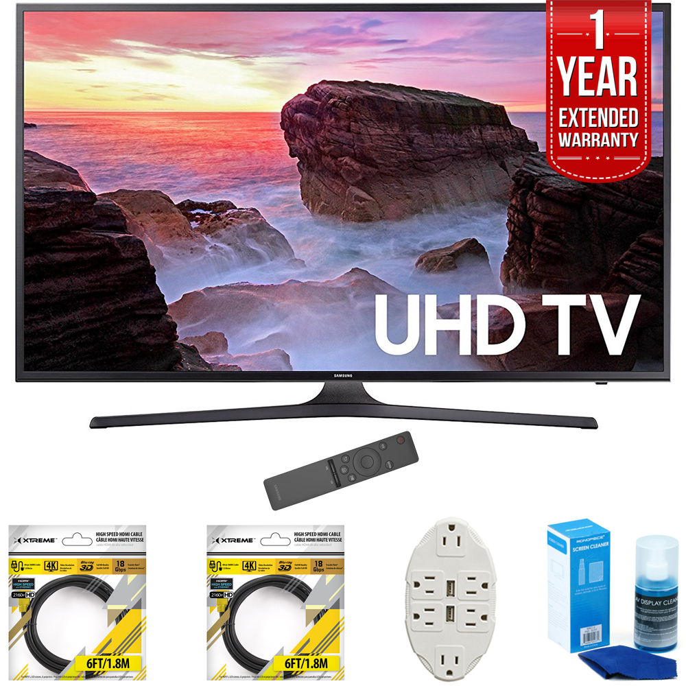 "Samsung 40"" 4K Ultra HD Smart LED TV 2017 Model UN40MU630..."