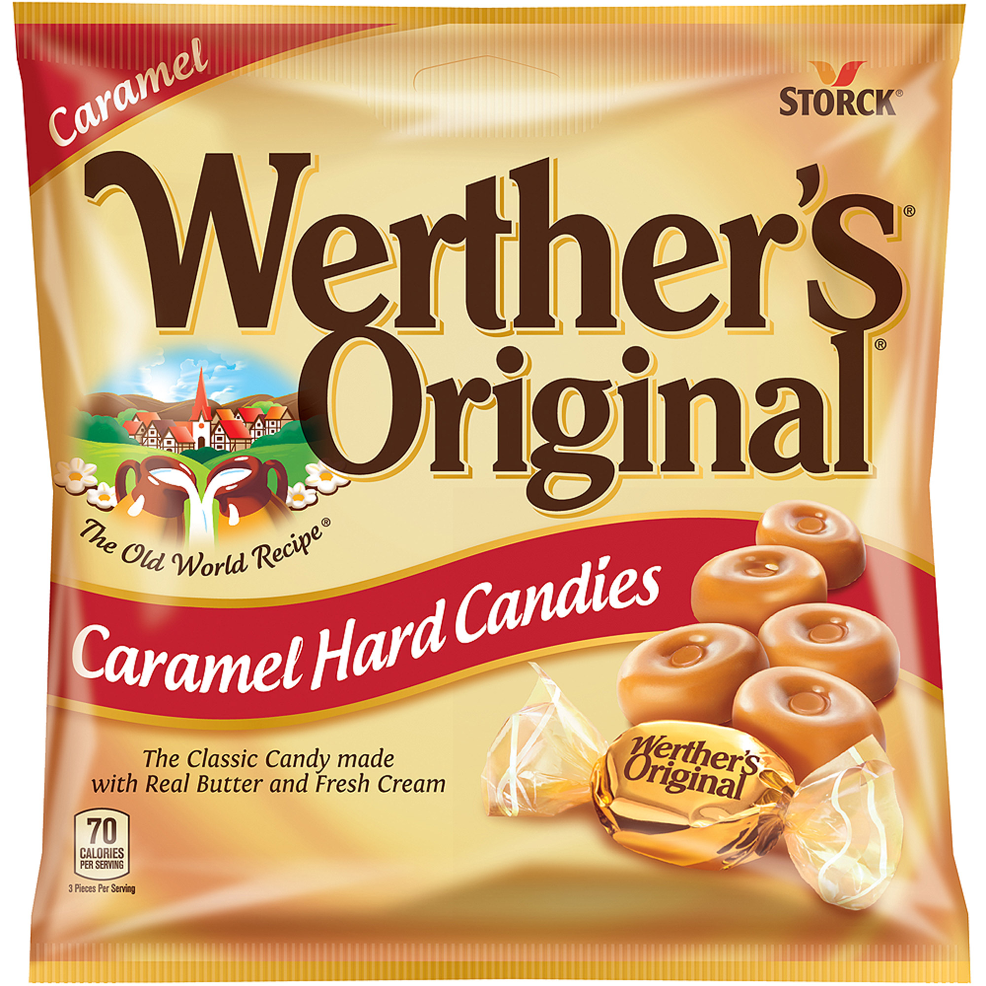 Werther's Original Hard Candies Candy, 5.5 oz