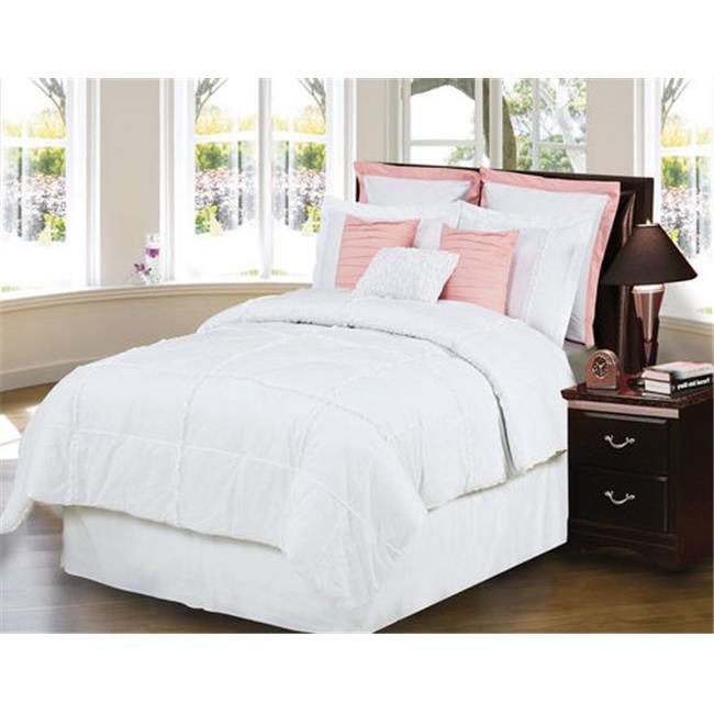 Hallmart 65368 Southern Magnolia 9Piece Queen Size - Comforter Set