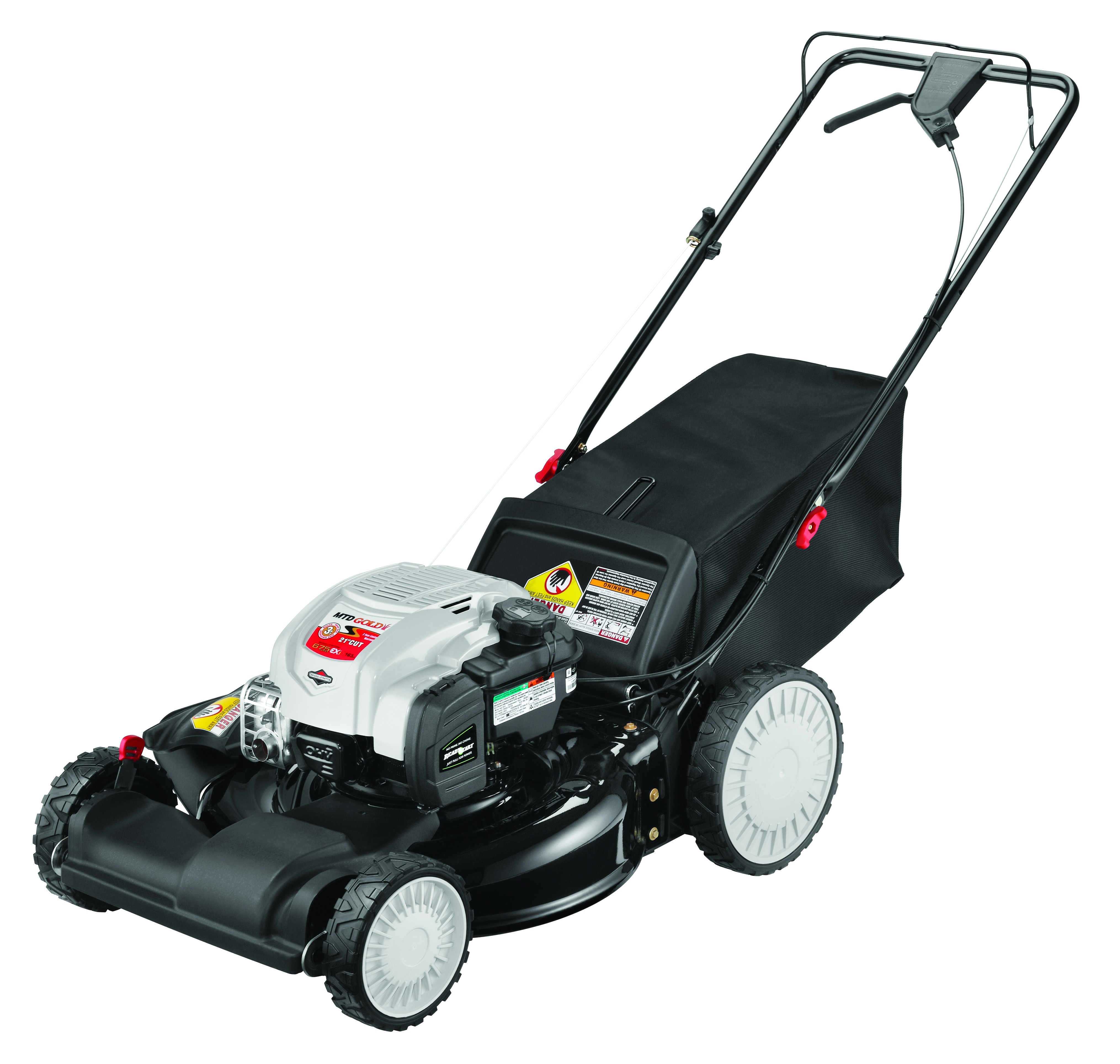 "MTD Gold 21"" Self-Propelled Gas Mower with 163cc Briggs & Stratton Engine"
