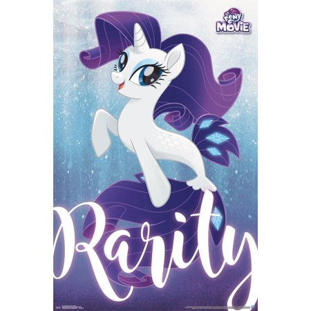 Pony Wall Hangings - My Little Pony Movie Underwater Wall Poster 22.375