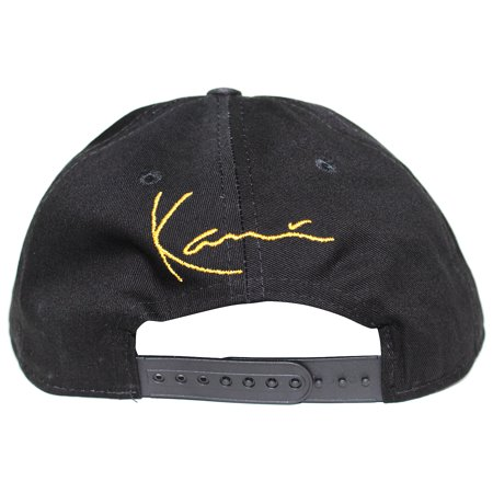 4df0581fbe725 Karl Kani Gold Plate Snapback Embroidered Hat Black - image 1 of 4 ...
