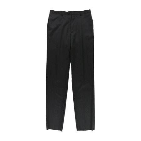 Tags Weekly Mens Heathered Casual Trousers black 34x38