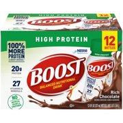 BOOST HIGH PROTEIN Rich Chocolate 12-8 fl. oz. Bottles