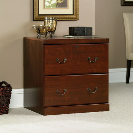 Sauder Heritage Hill Lateral File, Classic Cherry Finish Files Lateral Wood Laminate