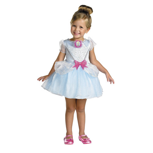 Disney Cinderella Ballerina Toddler Halloween Costume