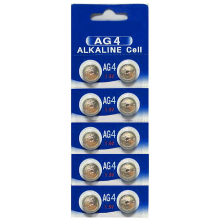 AG4 / LR626 Alkaline Button Watch Battery 1.5V - 30 Pack - FREE - Ag4 Batteries