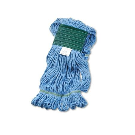 UNISAN Super Loop Wet Mop Head, Cotton/Synthetic, Medium Size, Blue (502BL) (Unisan Super Loop Wet Mop Head)