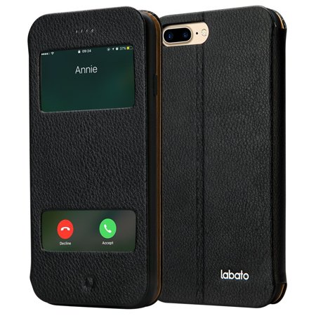 new style ded3e 5c527 Labato iPhone 7 Plus PU Leather View Window Flip Protective Magnetic ...