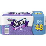 Scott Extra Soft Toilet Paper, 24 Double Rolls