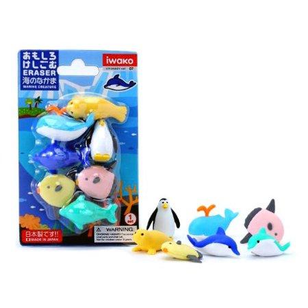 Japanese Eraser - Sea Life