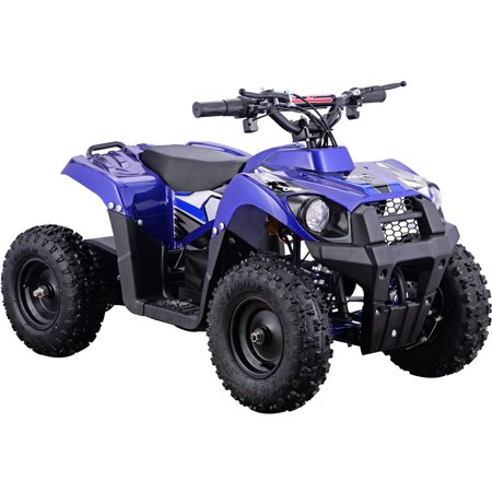 Adult 4 Wheeler (MotoTec Monster 36V 500W Kids Battery Powered ATV Four Wheeler)