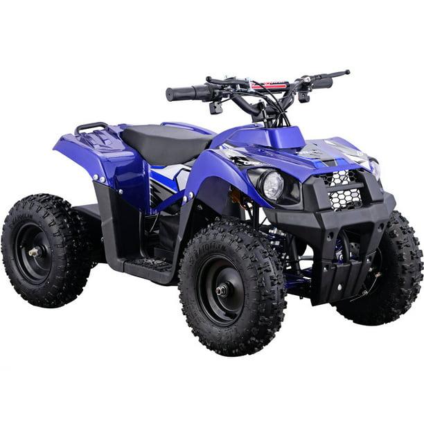 atv 36v 500w monster electric mototec mini terrain quad v6 battery wheeler four walmart powered vehicle pricing options