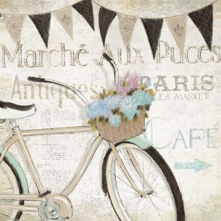 French Flea Market I Poster Print by Emily Adams