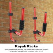 Tbest 1Pair Kayak Storage Rack Hanger Supporter Carrier Surfboard Holder Wall Bracket , Kayak Rack,Kayak Hanger