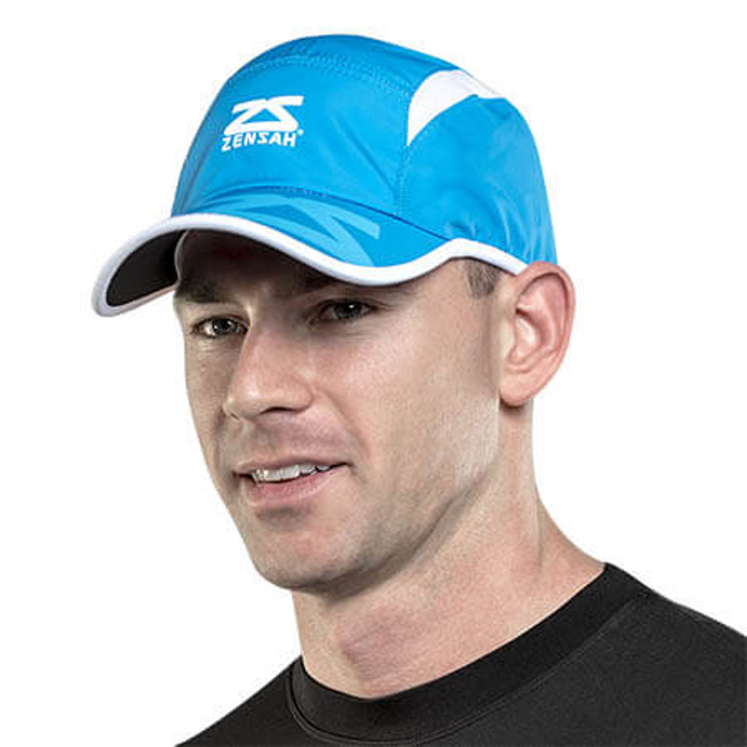 Zensah Race Hat for Runners  Zensah Blue  One Size