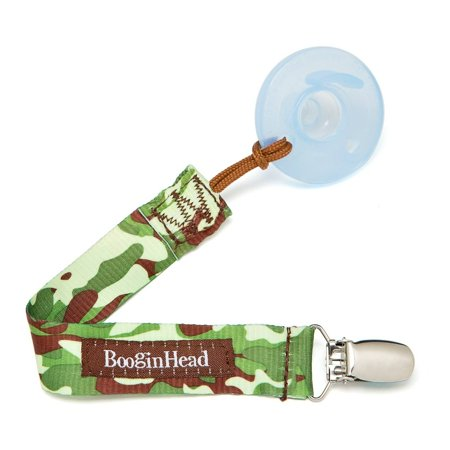 BooginHead PaciGrip Camo Pacifier Clip - 1 Count ()