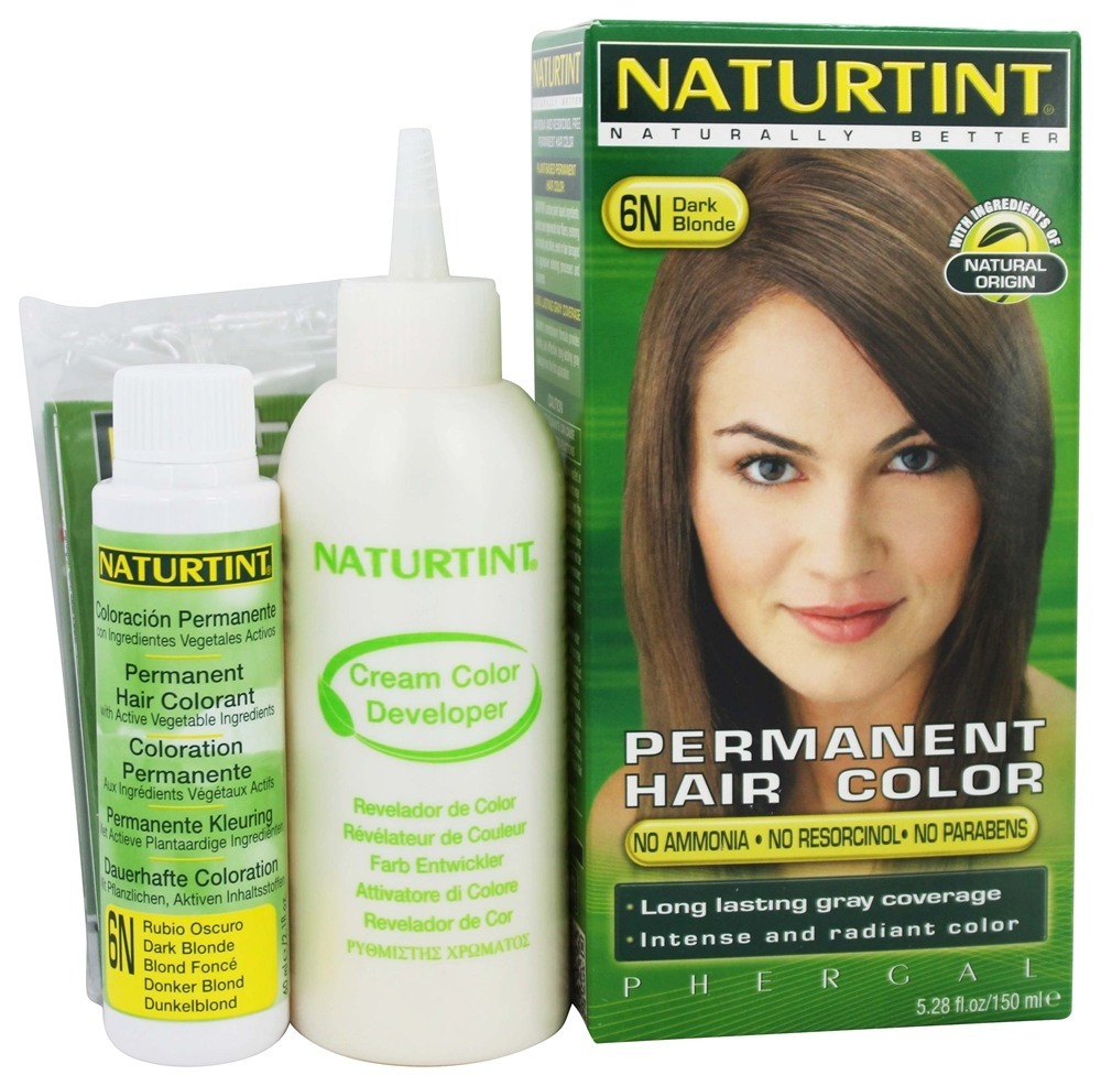 Naturtint Permanent Hair Color, Dark Blonde 6N