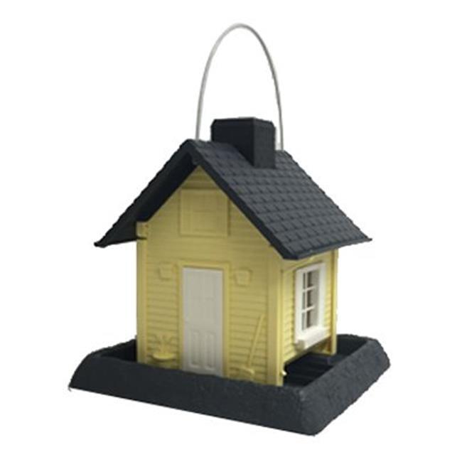 North States Industries 227671 Cottage Bird Feeder - Yellow