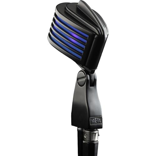 Heil Sound The Fin Dynamic Microphone Satin Black with Blue LED