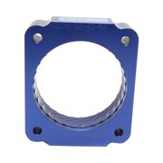 Jet Performance 62126 Throttle Body Spacer, Blue Anodized Aluminum