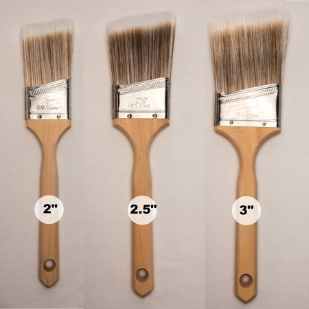 GBS Polyester 3 Pcs Paint Brush Set (2
