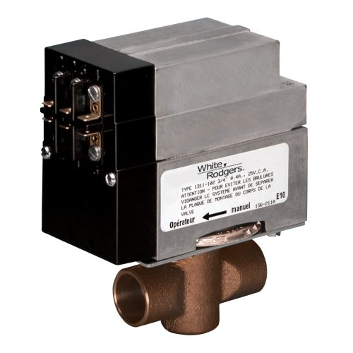 "White-Rodgers 1361-103 1"" 2-Wire Zone Valve"