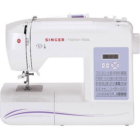 Singer 40 Fashion Mate Sewing Machine FactoryServiced White Cool White 5500 Sewing Machine