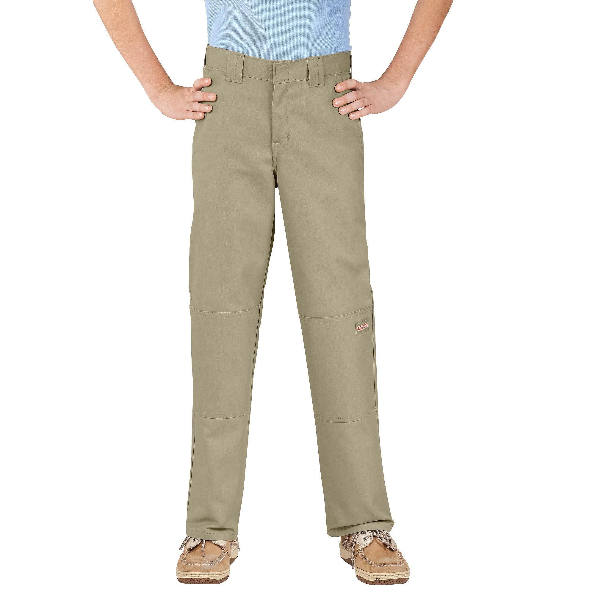 Genuine Dickies Boy's Double-Knee Multi Pocket Twill Pants ...